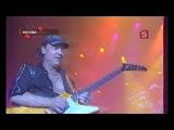 Тв-репортаж 5 канал TV о коцерте Scorpions в Москве 18 марта 2010